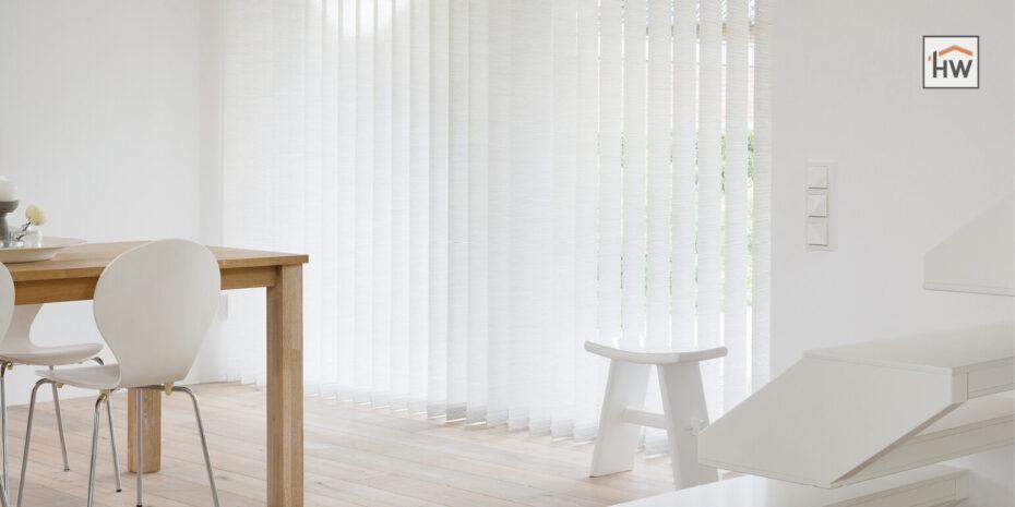 HW Huis & Wonen Gorinchem Raamdecoratie-Jaloezieën Lamellen wit