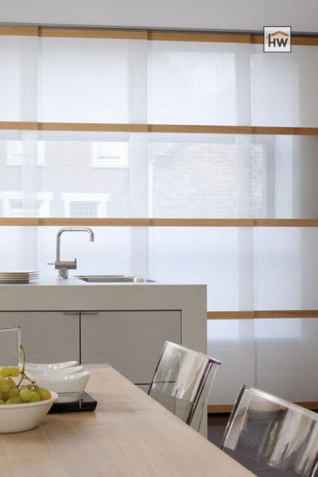 HW Huis & Wonen Gorinchem Panelen met houten sierlatjes