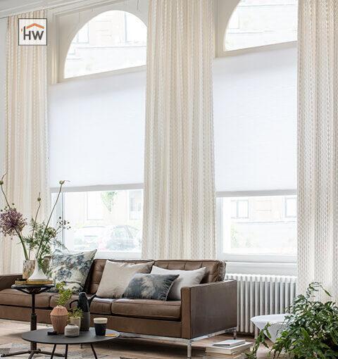 HW Huis & Wonen Gorinchem plissé met inbetweens