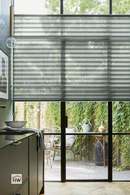 HW Huis & Wonen Gorinchem Plisse in badkamer