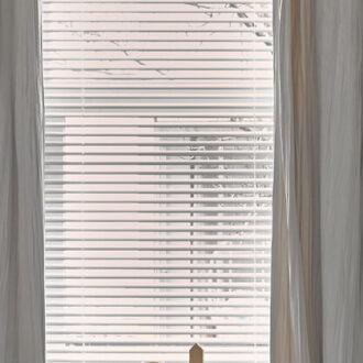 HW Huis & Wonen Gorinchem Raamdecoratie-Jaloezieën met overgordijnen