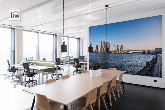 HW Huis & Wonen Gorinchem Schilderijrails kantoor