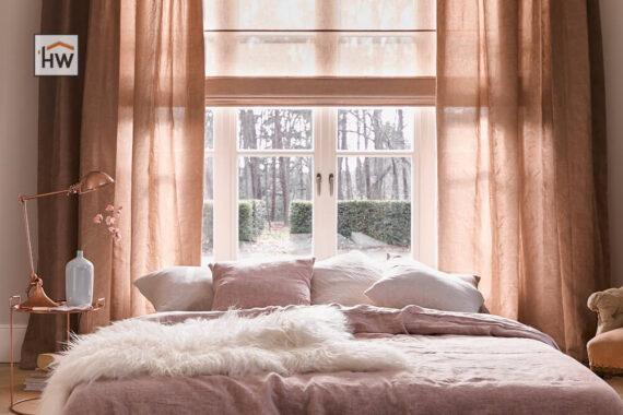 HW Huis & Wonen Gorinchem Vouwgordijn slaapkamer
