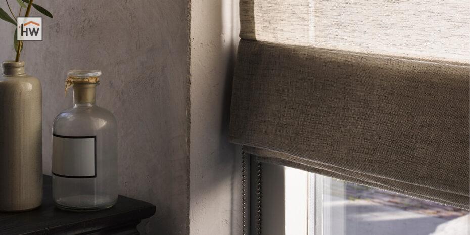 HW Huis & Wonen Gorinchem vouwgordijn detail