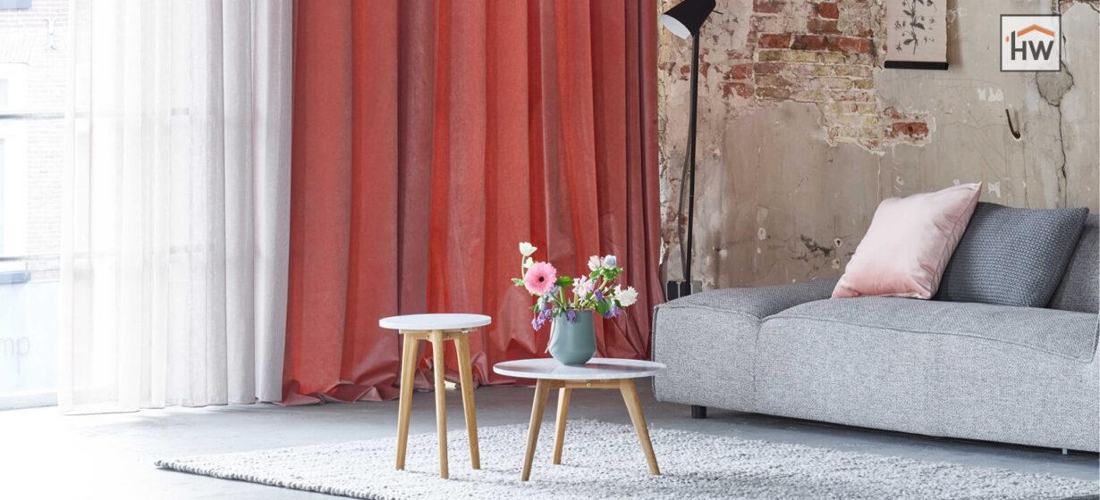 HW Huis & Wonen Gorinchem woonkamer gordijnen kleur