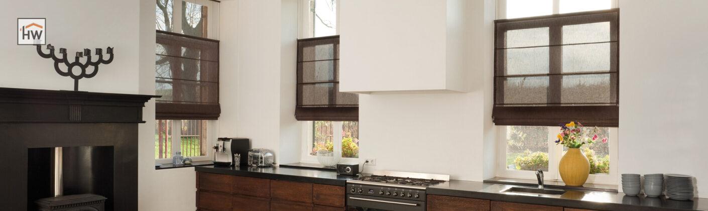 HW Huis & Wonen Gorinchem vouwgordijn keuken